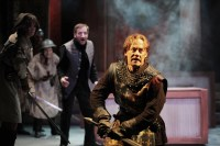 """""""Henry V"""" by William Shakespeare at Cincinnati Shakespeare Company in Cincinnati, Ohio, through May 30. Pictured: Justin McCombs (Photo byBy Mikki Schaffner Photography)"""
