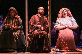 """Man of La Mancha"" by Dale Wasserman, Joe Darion, and Mitch Leigh, at Cape Fear Regional Theater in Fayetteville, N.C., through Oct.11. (Photo by Raul Rubiera Photography)"