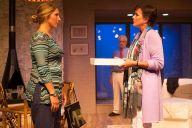 """""""Other Desert Cities"""" by Jon Robin Baitz, at Theatre Workshop of Nantucket in Nantucket, Mass., through Sept. 19. Pictured: Katie Croyle, Colleen Zenk, and John Devaney."""