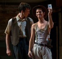 """""""Piper"""" by Caitlyn Joy, at Maryland Ensemble Theatre in Frederick, Md., through Aug. 15. Pictured: Connor Cochran and Dakota Rosell."""