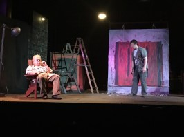 """Red"" by John Logan, at Parkway Playhouse in Burnsville, N.C., through Sept. 5. Pictured: Patrick Cronin and Jered Shults."