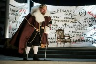 """""""Richard III"""" by William Shakespeare, a Bag&Baggage production at the Tom Hughes Civic Center Plaza in Hillsboro, Ore., through Aug. 1. Pictured: Peter Schuyler."""