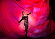 """""""Salome, Dance for Me"""" by trixxie carr, Ben Randle, Robert Mollicone, Oscar Wilde, and Richard Strauss, at the New Conservatory Theatre Center in San Francisco through Aug. 29. Pictured: trixxie carr. (Photo by Lois Tema)"""