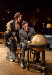 """The Second Mrs. Wilson"" by Joe DiPietro, at the Long Wharf Theatre in New Haven, Conn., through May 31. Pictured: Margaret Colin and John Glover."