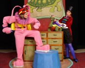 """The Tortoise, the Hare & Other Aesop's Fables,"" adapted by Michael Haverty from Aesop, at Center for Puppetry Arts in Atlanta, through Sept. 20. (Photo by Rod Reilly)"