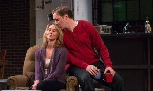 """""""Time Stands Still"""" by Donald Margulies, at Harlequin Productions in Olympia, Wash., through May 30. Pictured: Jenny Hall and Matt Shimkus."""