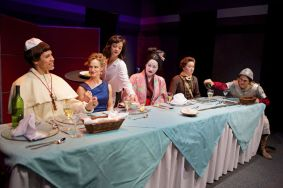 """Top Girls"" by Caryl Churchill, at Shotgun Players in Berkeley, Calif., through Aug. 2. (Photo by Pak Han)"