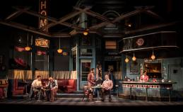 "August Wilson's ""Two Trains Running,"" at Goodman Theatre. (Photo by Liz Lauren)"