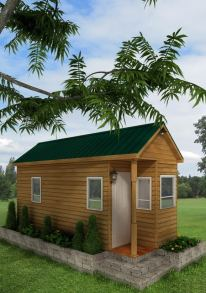 Pensacola American Tiny House Front