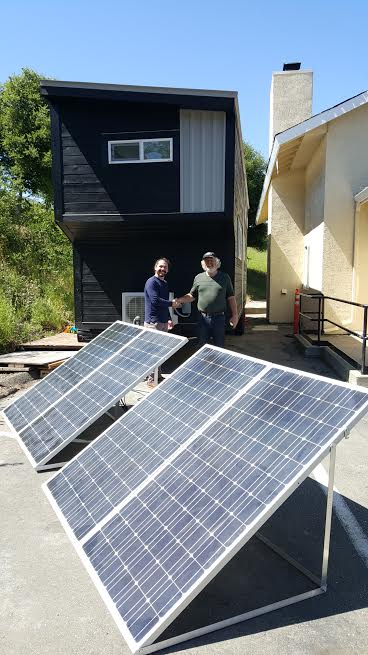 San Francisco Solar panels by American Tiny House