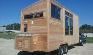Phoenix cedar siding American Tiny House