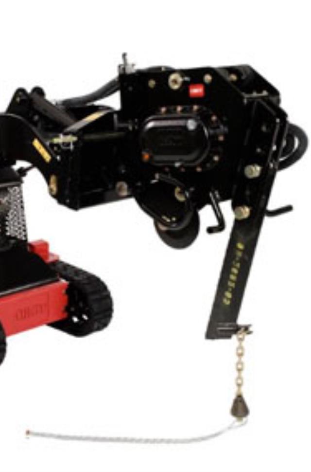vibratory plow attach 12 inch d mini