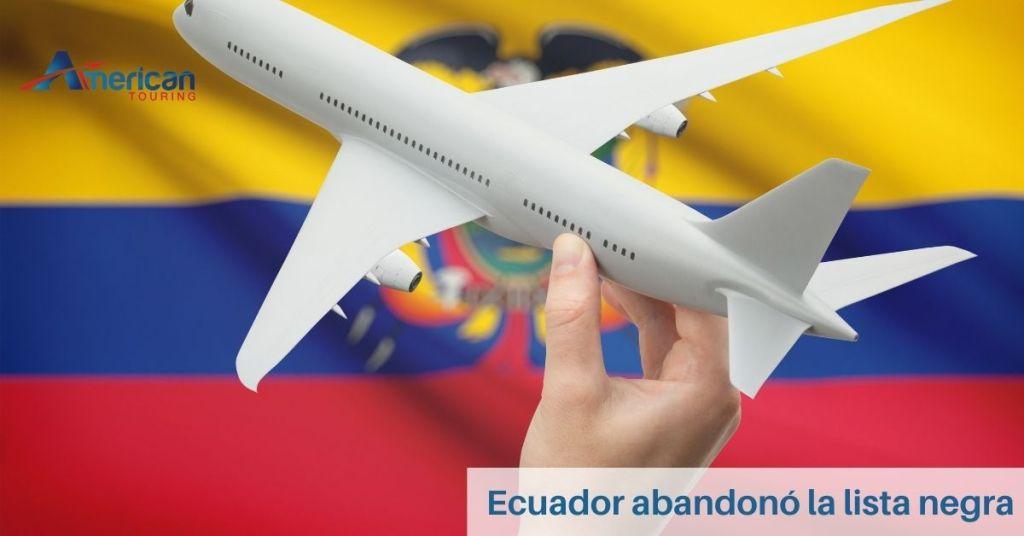 Ecuador abandonó la lista negra