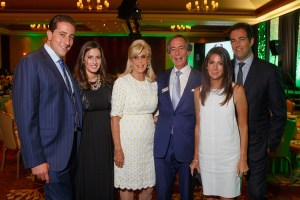 Event Chairs Karly and Brad Farber, American Transplant Foundation Founder Steve Farber with wife, Cindy, Julie and Brent Farber