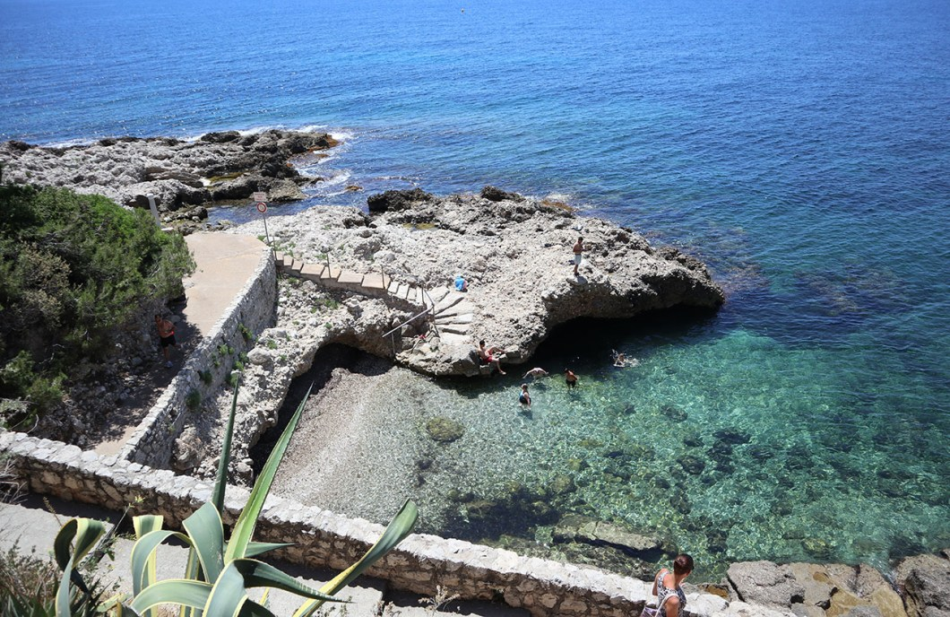 Cap d'ail on the French Riviera