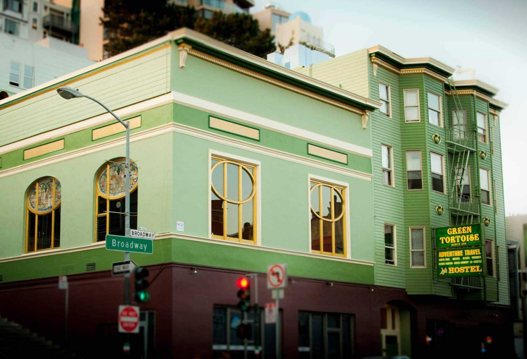 Green Tortoise Hostel San Francisco - best party hostels in the usa