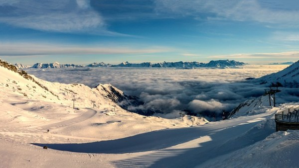 La Plagne is one of the best holiday ski resorts in France