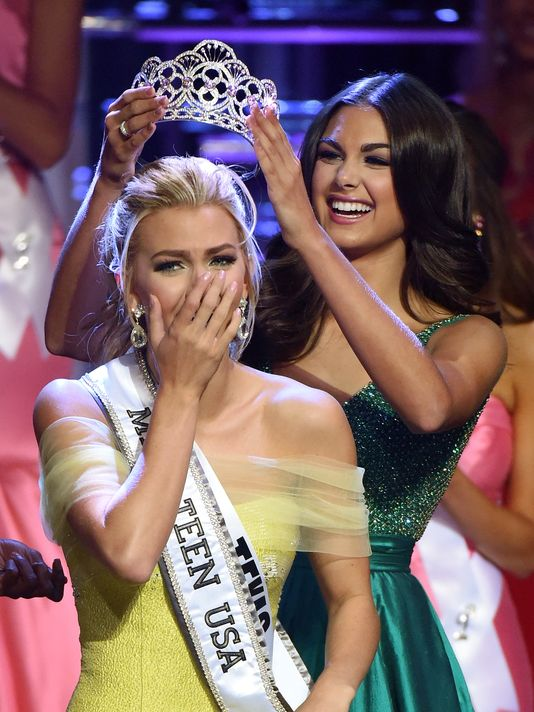 Karlie Hay, Miss Teen USA 2016, Photo courtesy of USA Today.com