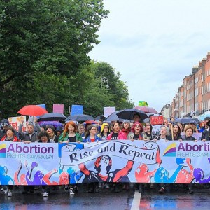 Ireland abortion protest