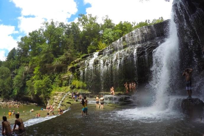 Cummins Falls Scenic View