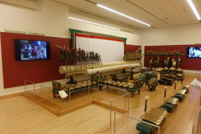 Musical Instrument Museum Indonesian Gamelan
