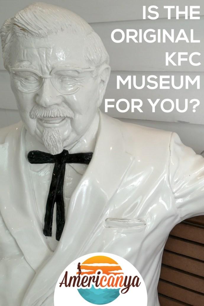 Original KFC Museum Pin