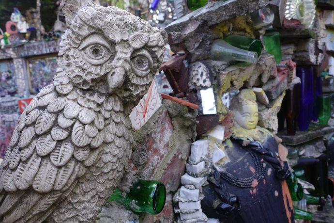 Philadelphia Magic Gardens Owl