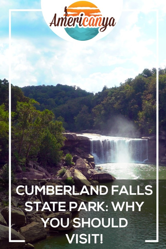 Cumberland Falls State Park Pin