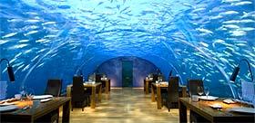 restaurant sous marin