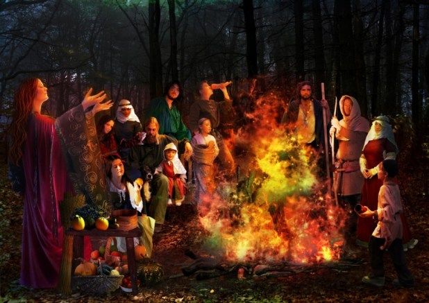 Halloween Divination Celtic Samhain