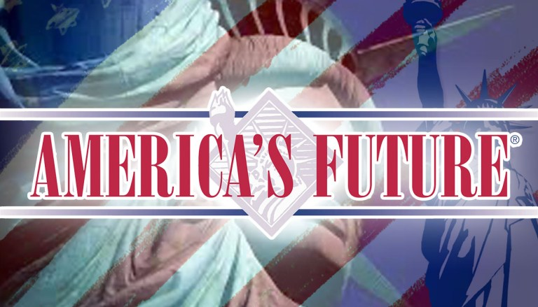 America's Future: It's here!