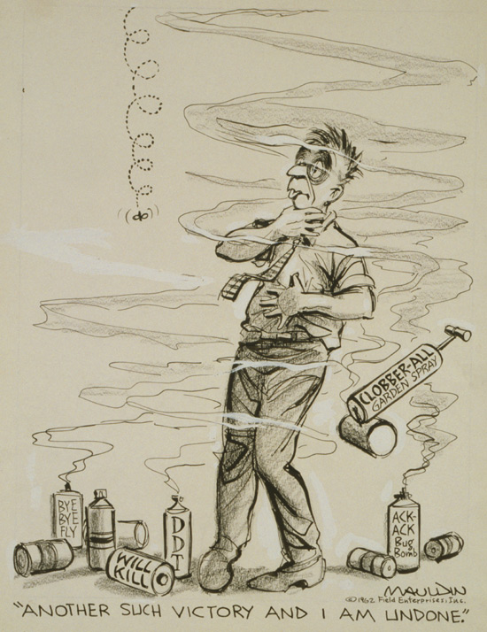 CREDIT: Mauldin, Bill, artist. Another such victory and I am undone Copyright 1962, Field Enterprises, Inc. Prints and Photographs Division of the Library of Congress.