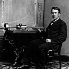 Image result for 1877 – Thomas Edison announces his invention of the phonograph, a machine that can record and play sound.