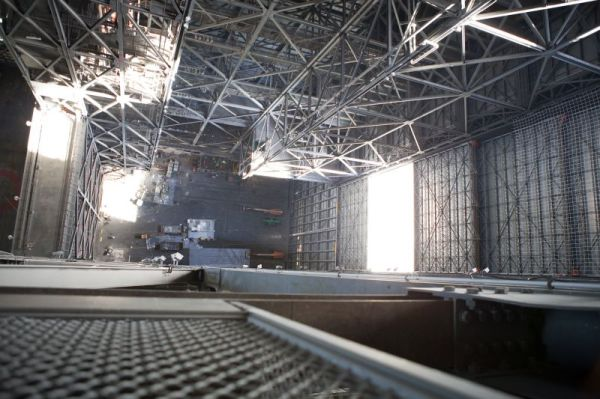 KSC's Iconic Vehicle Assembly Building Undergoing ...
