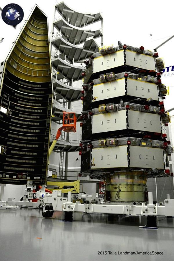 NASA's MMS Fleet Ready for Mission to Study Magnetic ...