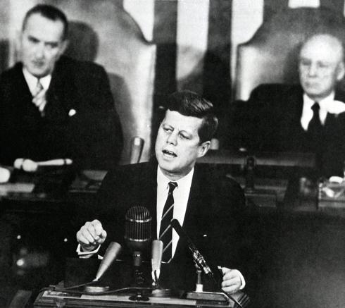Kennedy Congress Speech 1961