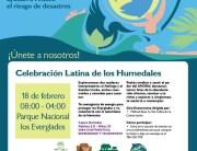 Dia Mundial Humedales, America Verde 2017