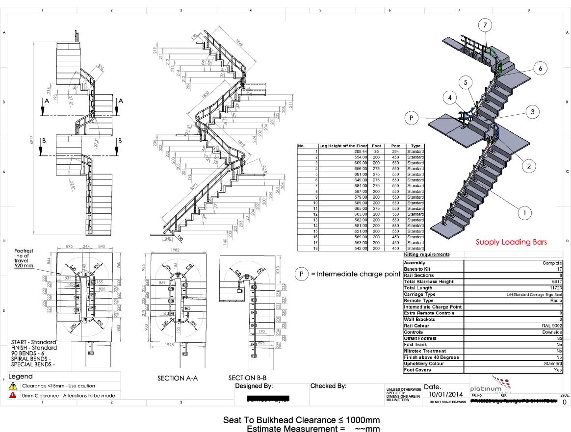 Ameriglide Platinum Cad Examples