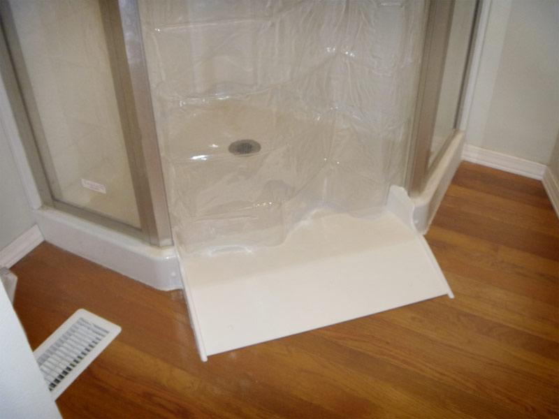 Barrier Free Shower Conversion Kit By AmeriGlide Self