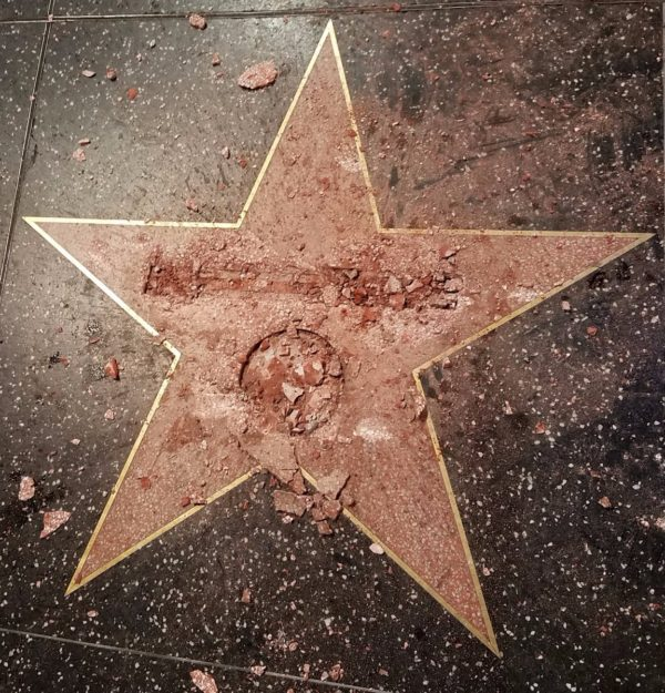 damaged_donald_trump_hollywood_star