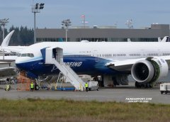 777-9 WH001 is scheduled for taxi testing on the afternoon of January 21