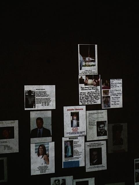 Vermissten-Poster, die nach der Terror-Attack überall in New York hingen