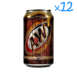 A&W Root Beer Soda (x12)