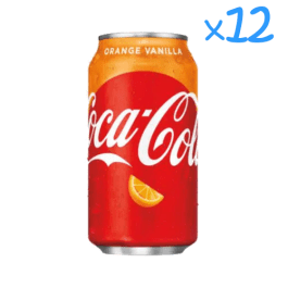 Coca-Cola Orange Vanilla (x12)