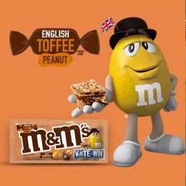 M&M's English Toffee – LIMITED EDITION