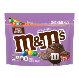 M&M's Fudge Brownie Sharing Bag