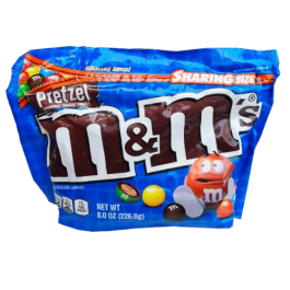 M&M's Pretzel Sharing Bag