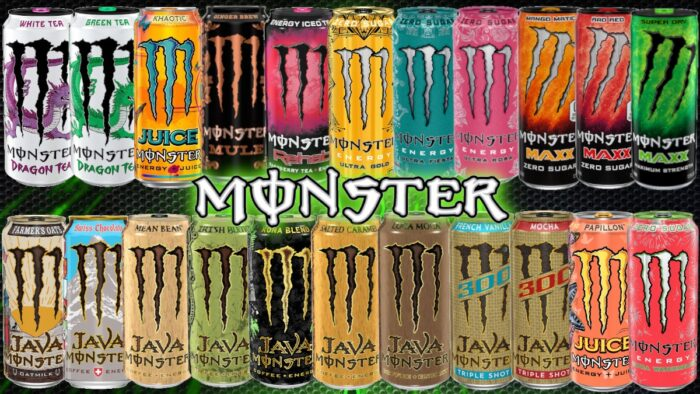 available monsters at amerikashop
