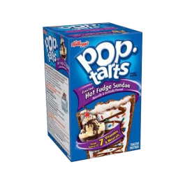 Pop Tarts Frosted Hot Fudge Sundae