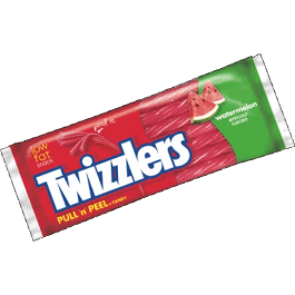 Twizzlers Watermelon Pull 'n Peel (Stock Sale)